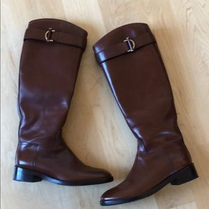 TORY BURCH | Brown Leather Riding Boots